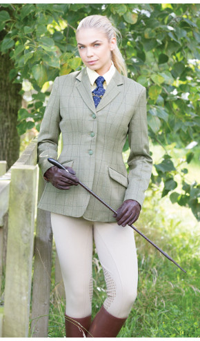 Equetech Foxbury Tweed Jacket