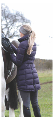 Equetech Lexi Long Packable Coat