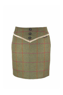 Timothy Foxx Larissa Skirt Back in Juno Tweed