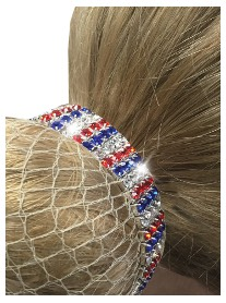 Equetech Crystal Patriotic Scrunchie