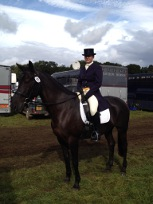 tamsin IN_DRESSAGE_GEAR_on_captain_nera_horse_box